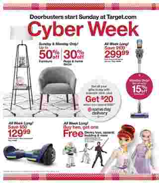 Target - deals are valid from 12/01/19 to 12/07/19 - page 8.