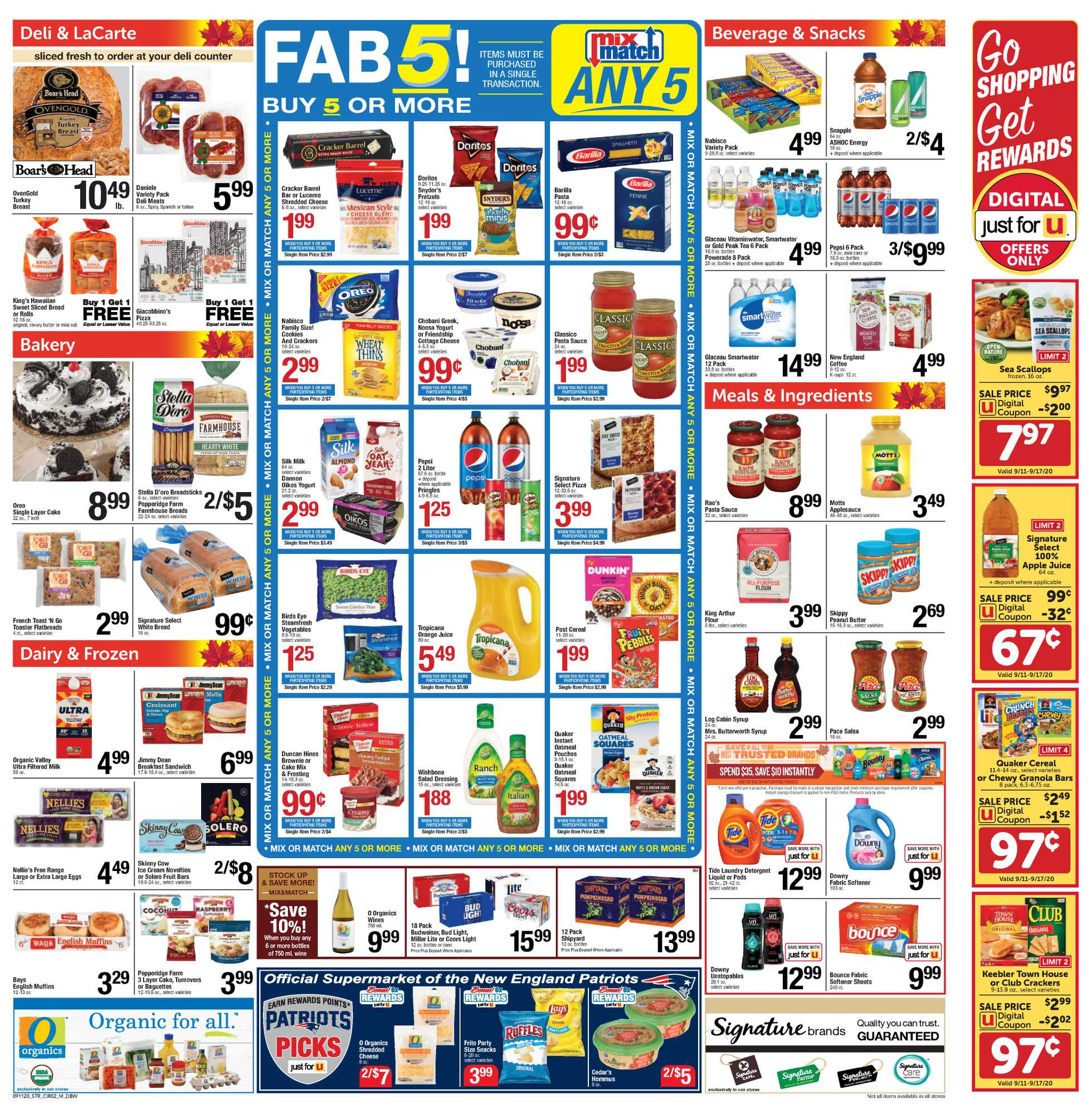 Star Market - deals are valid from 09/11/20 to 09/17/20 - page 2.