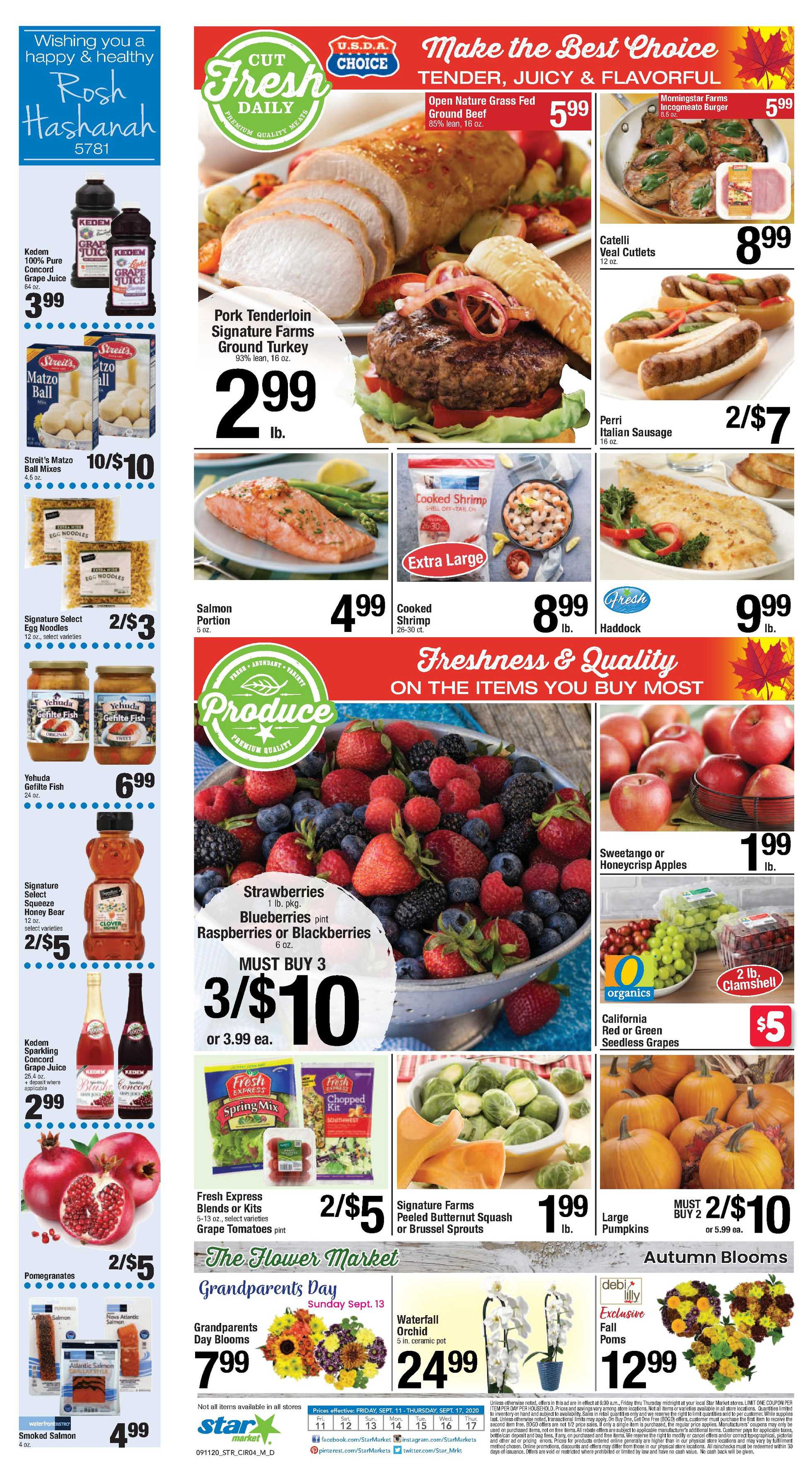 Star Market - deals are valid from 09/11/20 to 09/17/20 - page 3.