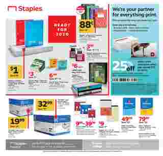 Staples - deals are valid from 01/05/20 to 01/11/20 - page 8.