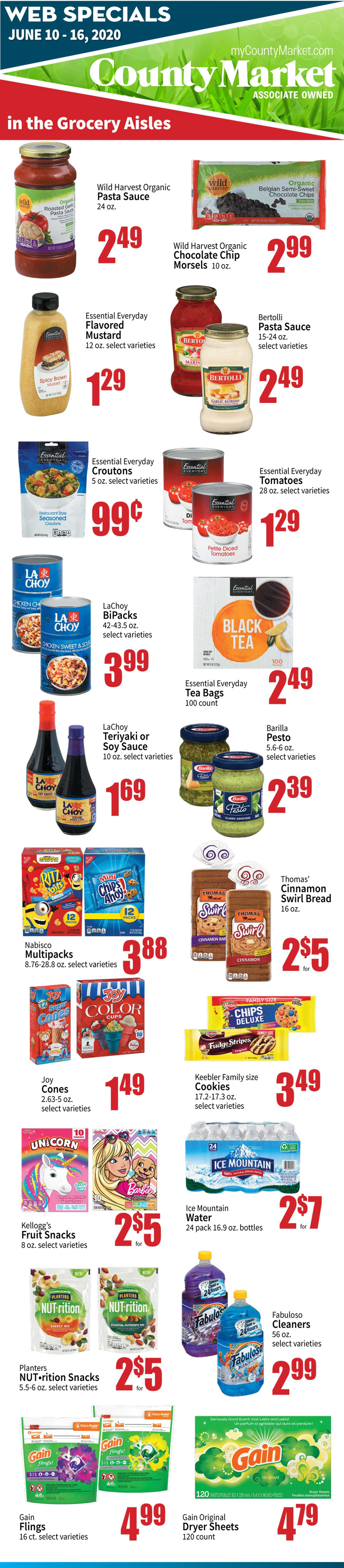 County Market - deals are valid from 06/10/20 to 06/16/20 - page 2.