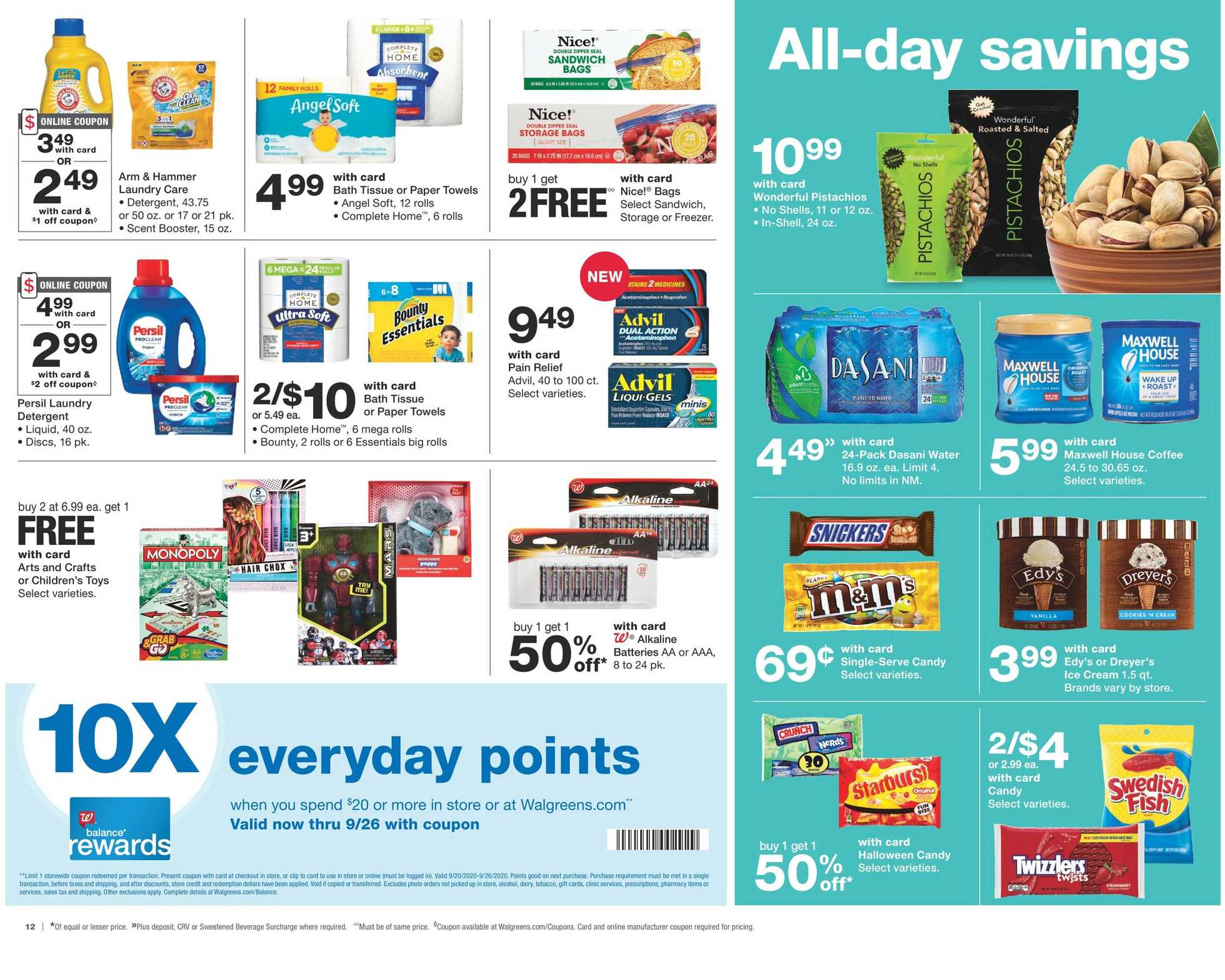 Walgreens - deals are valid from 09/20/20 to 09/26/20 - page 3.