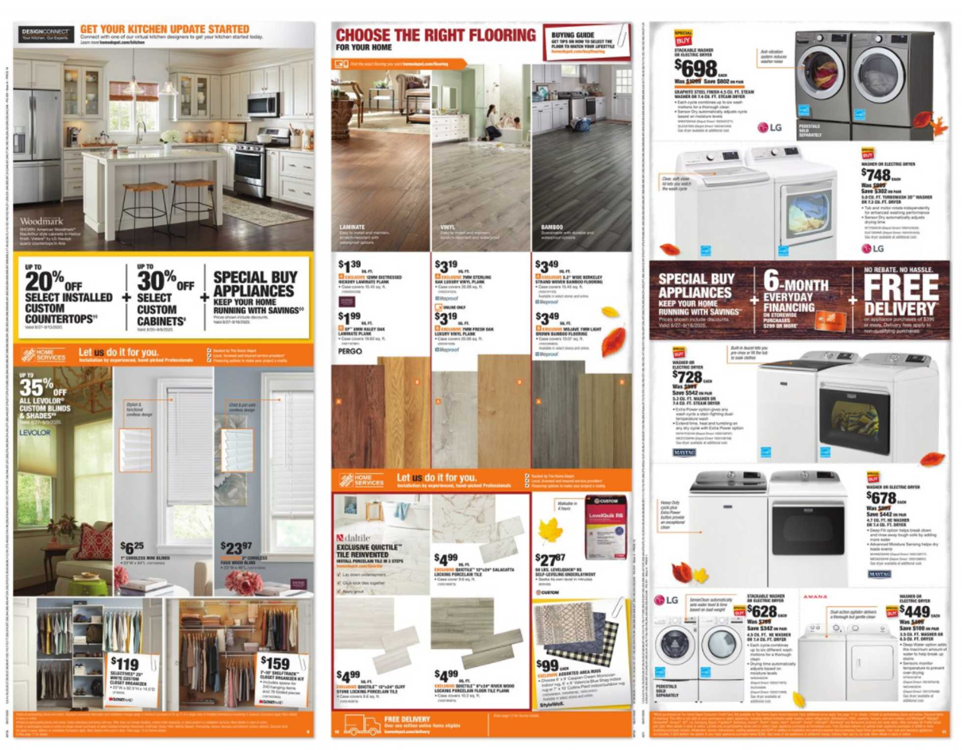 The Home Depot - deals are valid from 08/27/20 to 09/07/20 - page 4.