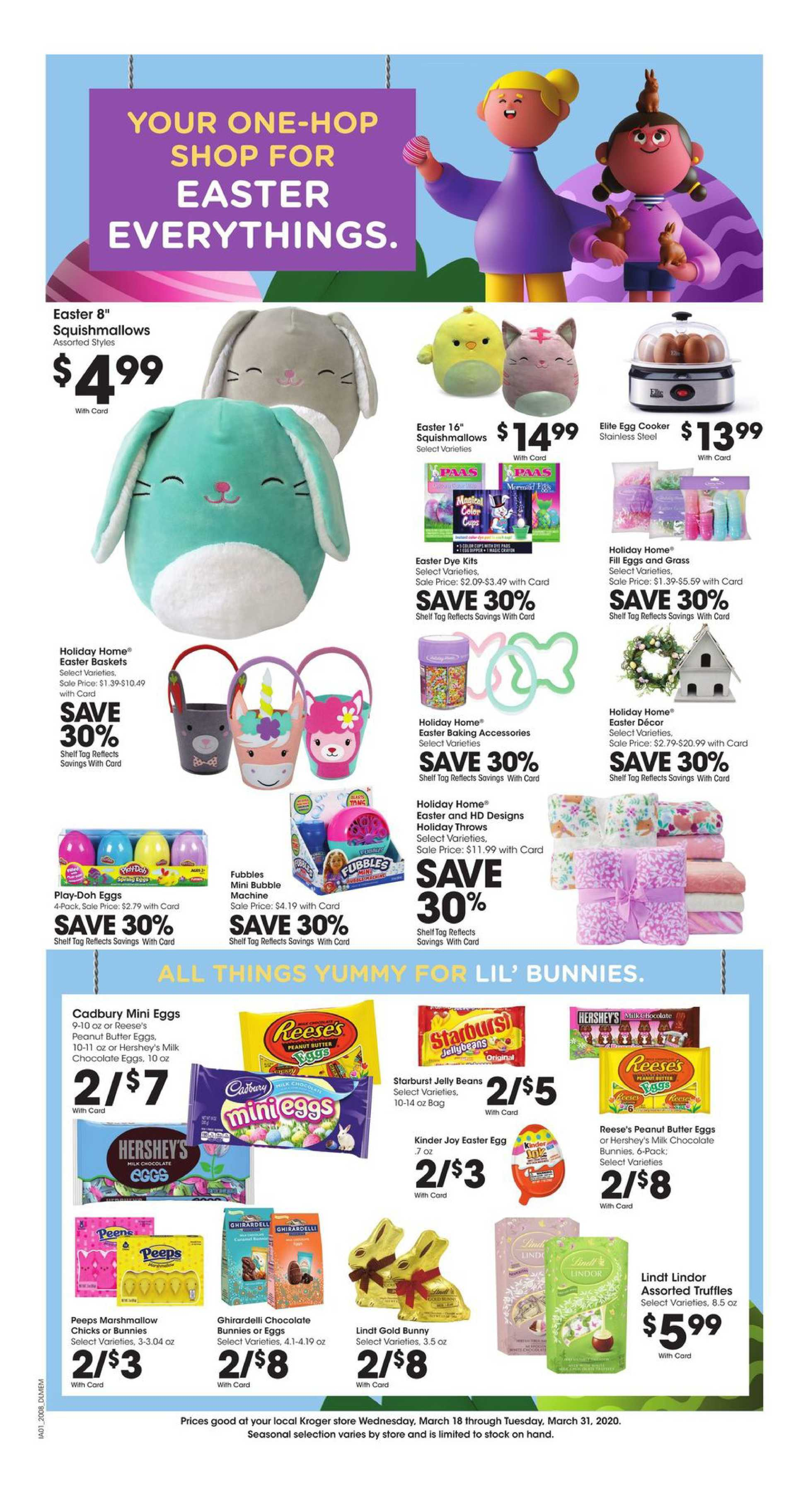 Kroger - deals are valid from 03/25/20 to 03/31/20 - page 4.