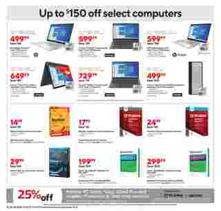 Staples - deals are valid from 10/18/20 to 10/24/20 - page 8.