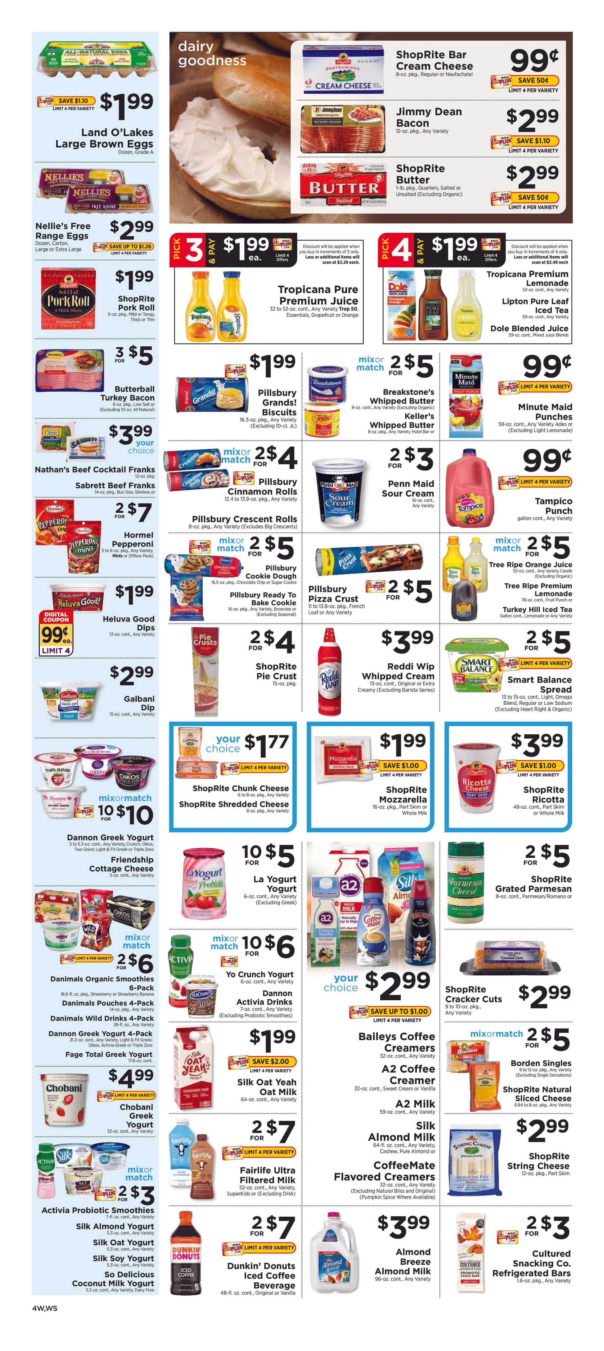 ShopRite - promo starting from 12/22/19 to 12/28/19 - page 4.