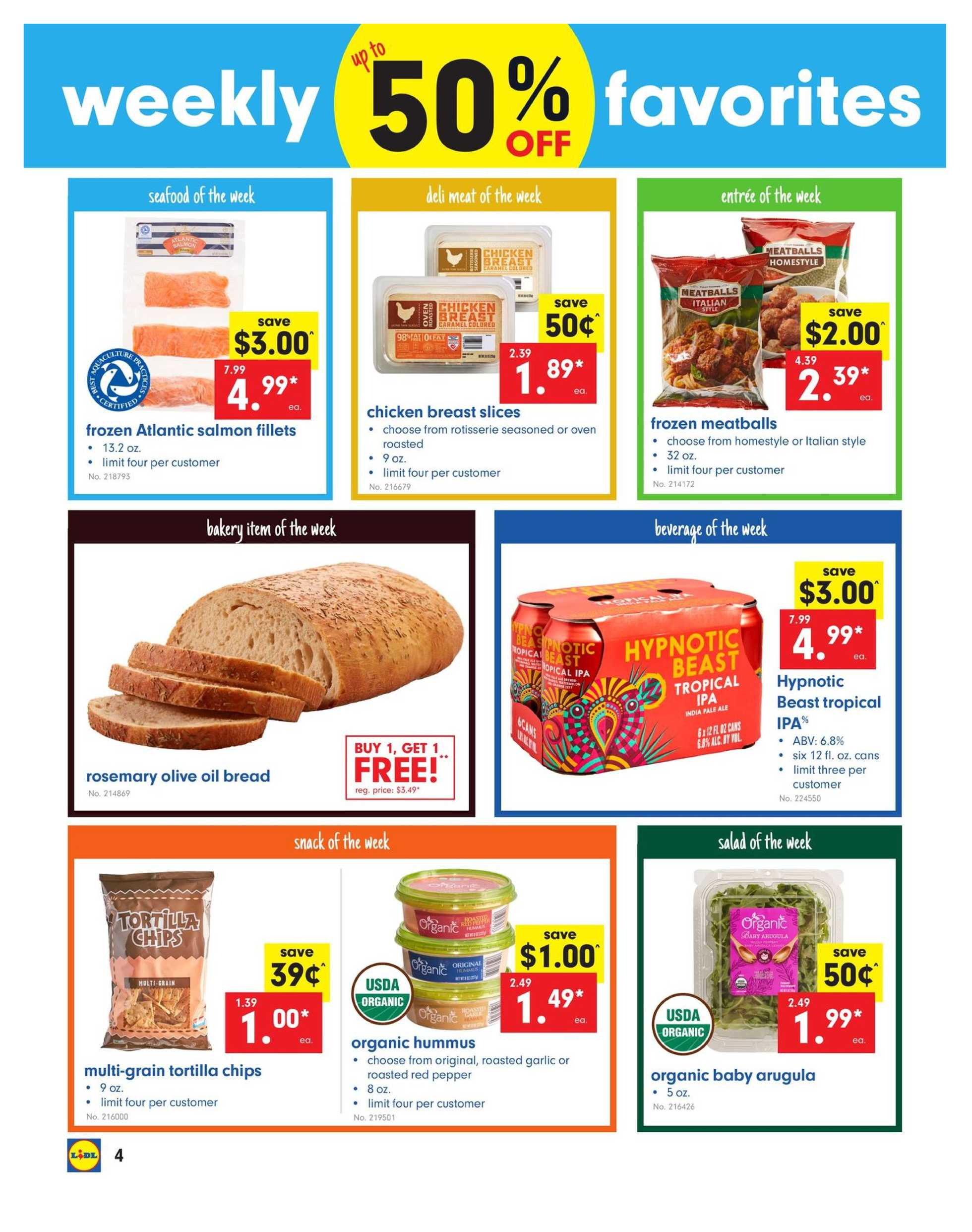 Lidl - promo starting from 04/24/19 to 04/30/19 - page 4.