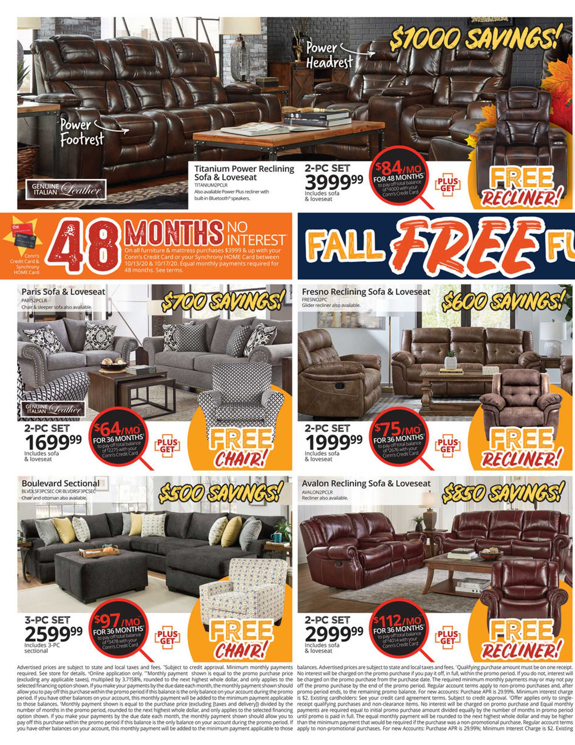 Conn's HomePlus - deals are valid from 10/13/20 to 10/17/20 - page 2.