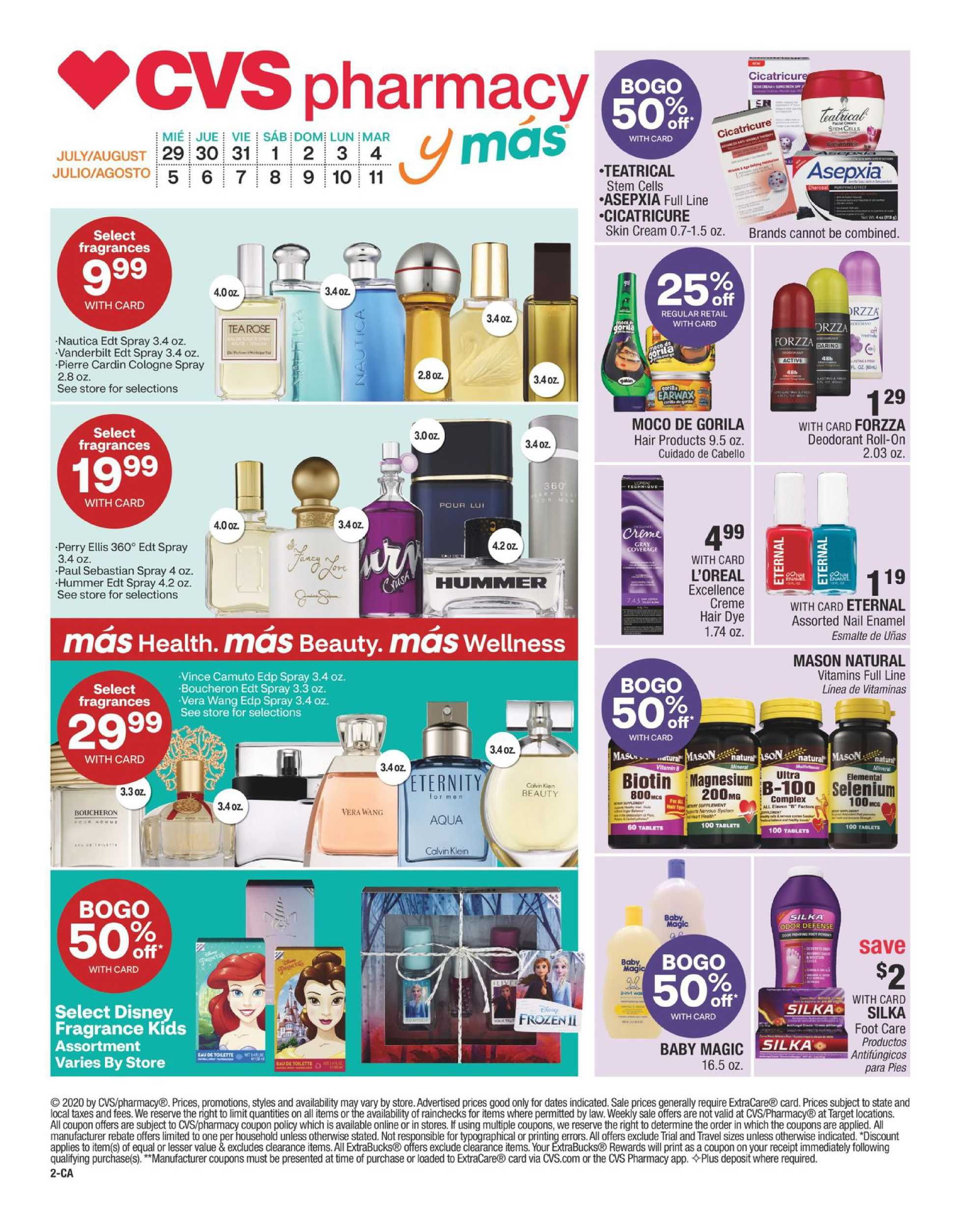 CVS - deals are valid from 07/29/20 to 08/11/20 - page 2.