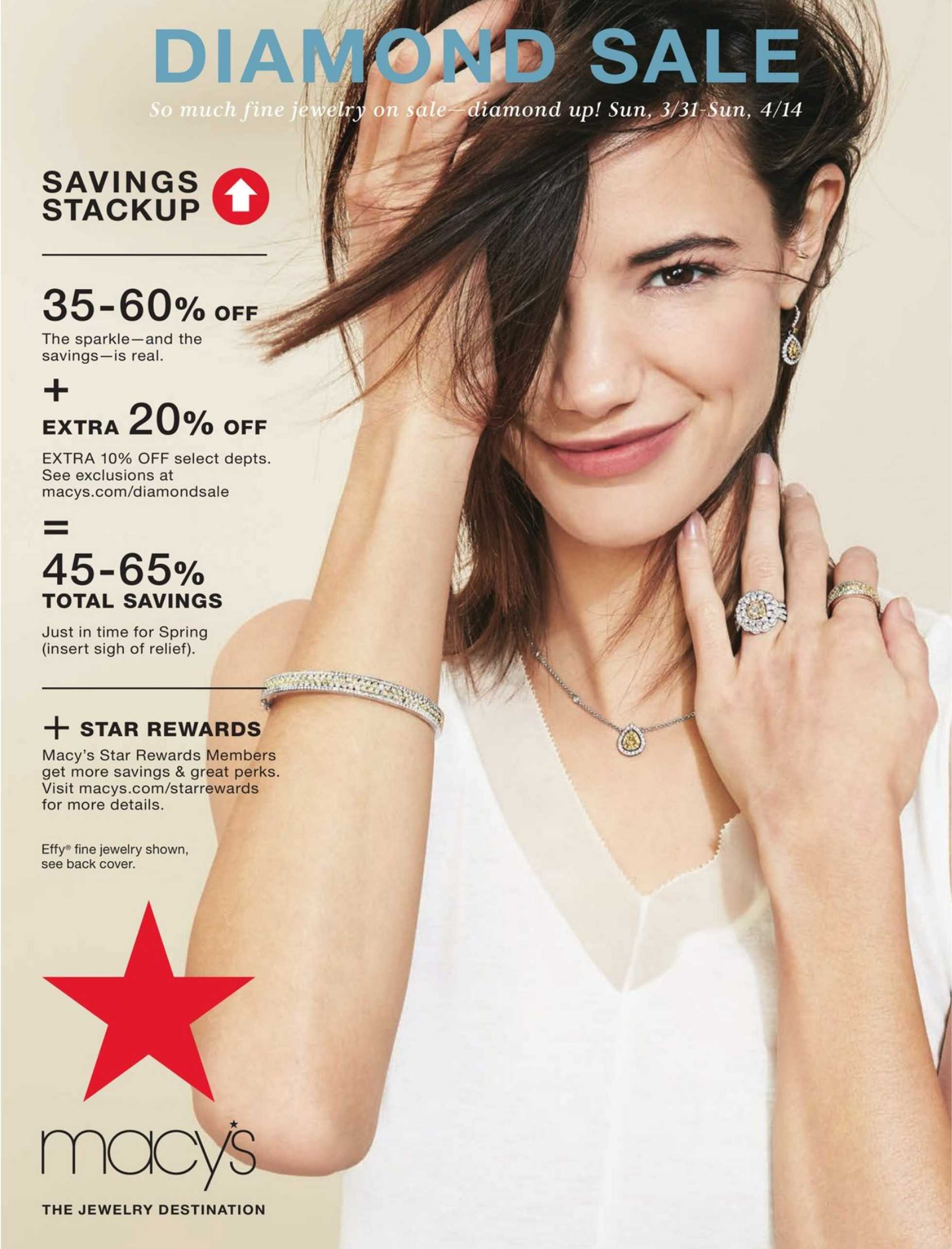 Macy's - deals are valid from 03/31/19 to 04/14/19 - page 1.