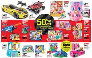 Target - promo starting from 11/28/19 to 11/30/19 - page 11.