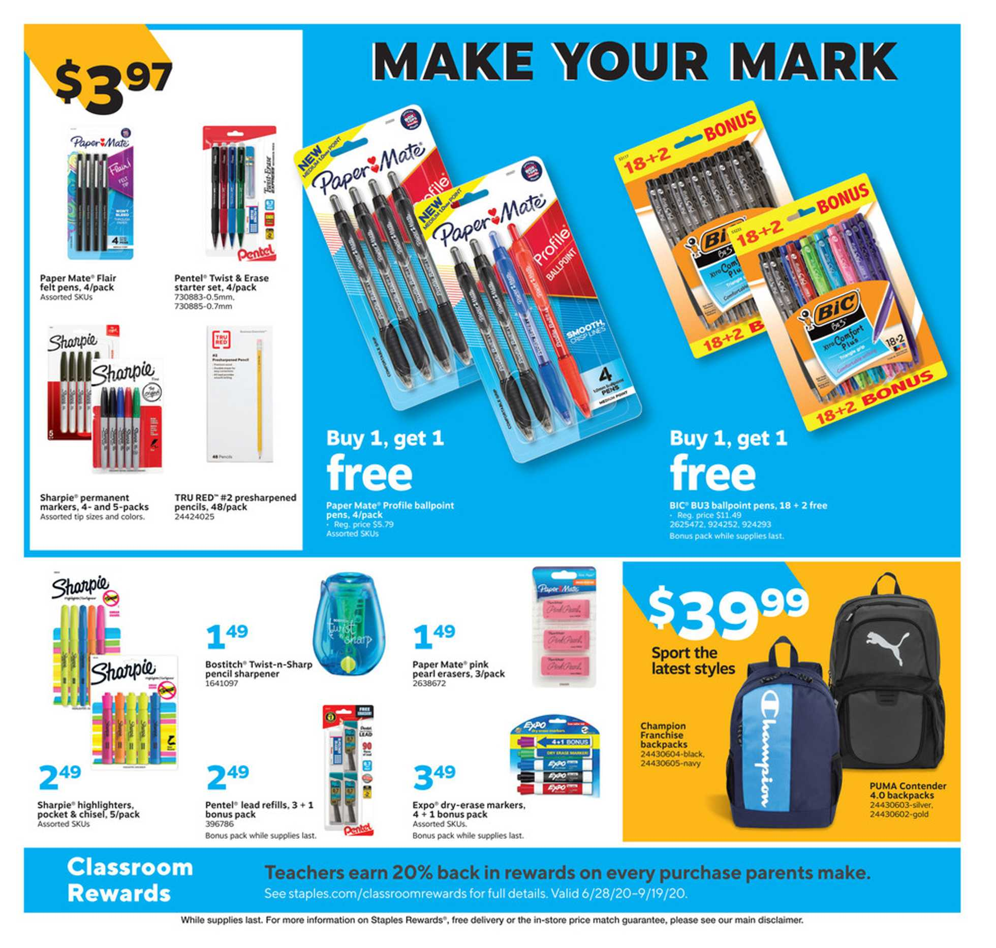 Staples - deals are valid from 08/02/20 to 08/08/20 - page 4.