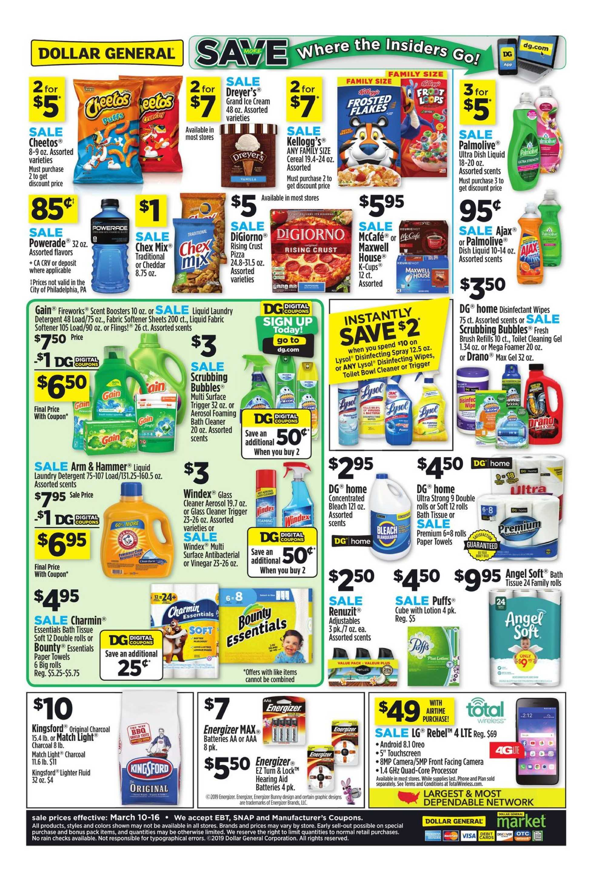 Dollar General - promo starting from 03/10/19 to 03/16/19 - page 2.