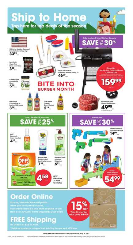 Smith's - deals are valid from 05/12/21 to 05/18/21 - page 1.