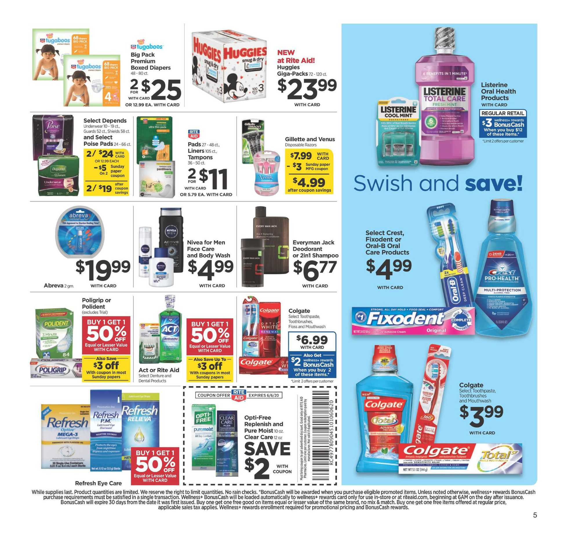 Rite Aid - deals are valid from 05/31/20 to 06/06/20 - page 2.