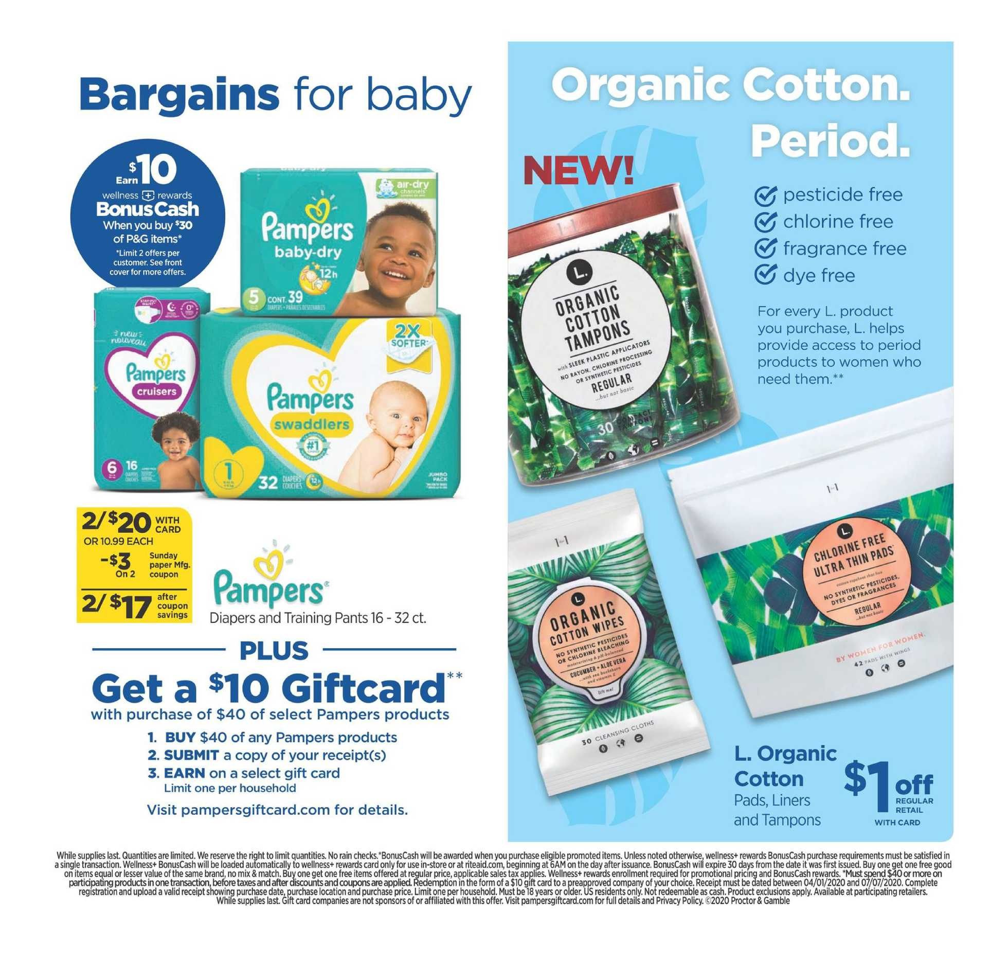 Rite Aid - deals are valid from 05/31/20 to 06/06/20 - page 3.