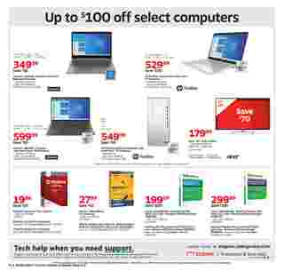 Staples - deals are valid from 10/04/20 to 10/10/20 - page 6.