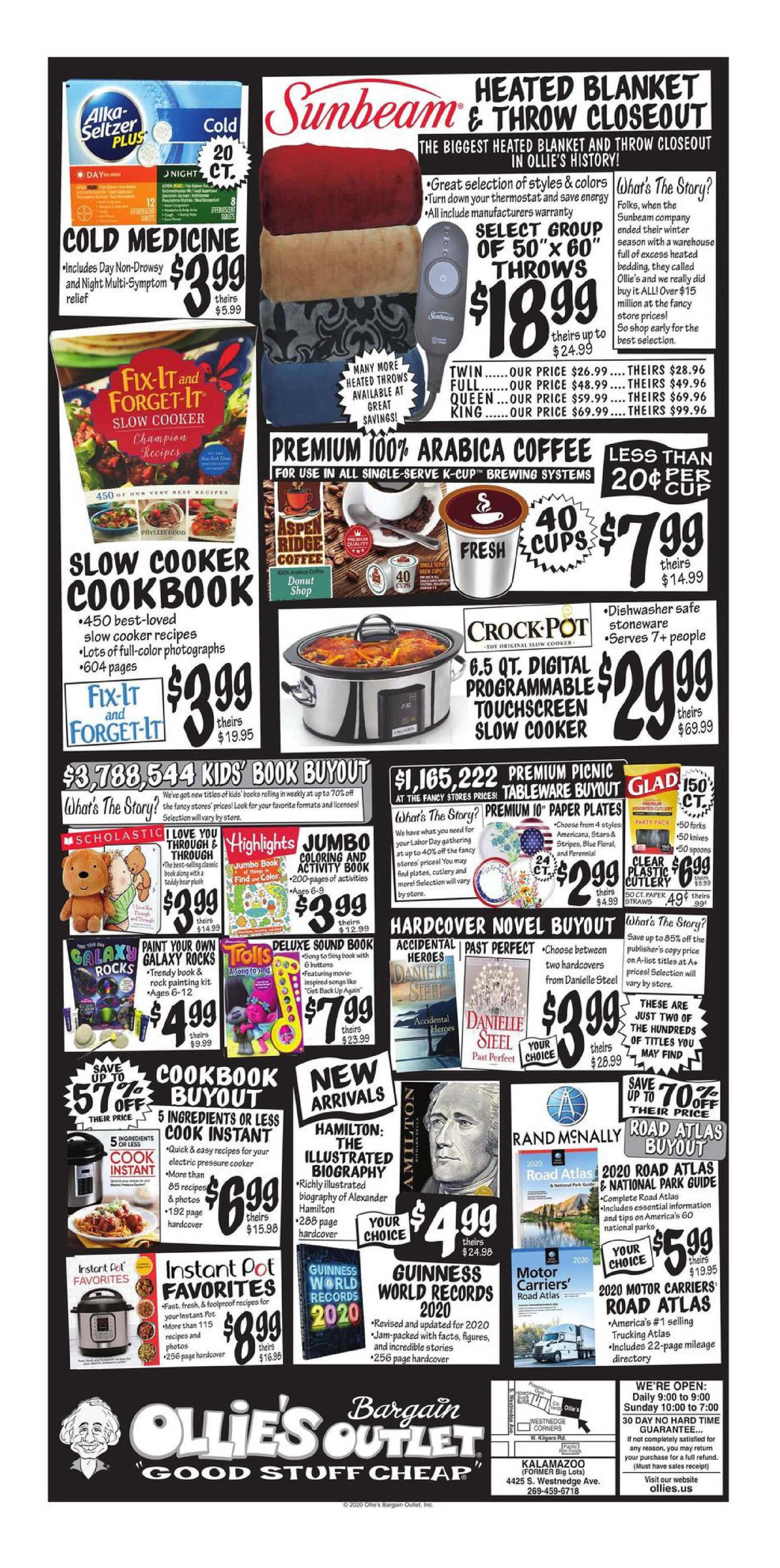 Ollie's Bargain Outlet - deals are valid from 09/30/20 to 10/10/20 - page 4.
