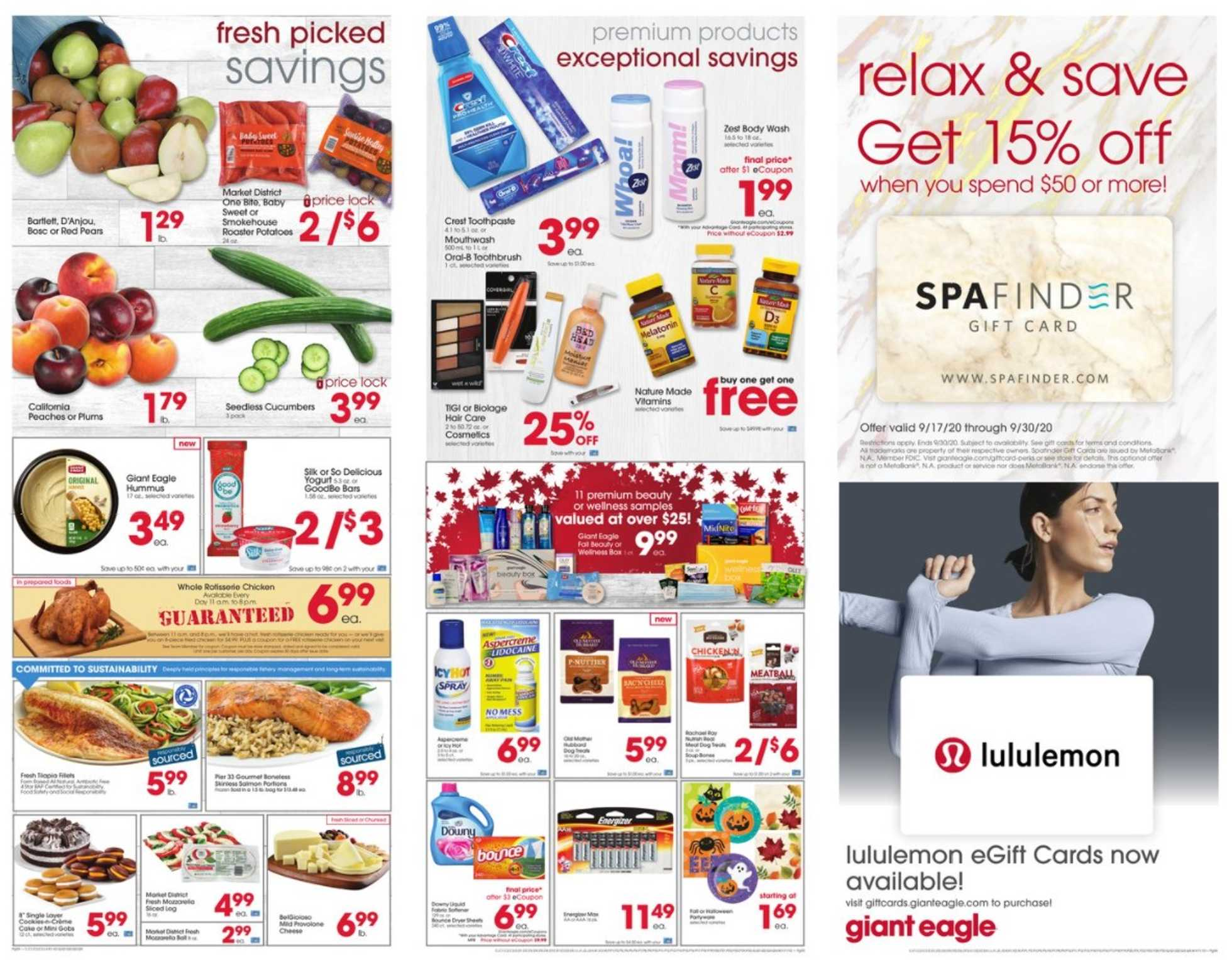 Market District - deals are valid from 09/24/20 to 09/30/20 - page 2.