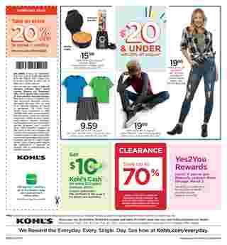 Kohl's - deals are valid from 02/20/20 to 02/23/20 - page 8.