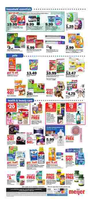 Meijer - deals are valid from 10/11/20 to 10/17/20 - page 11.
