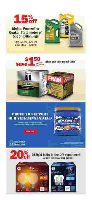 Meijer - deals are valid from 10/11/20 to 10/17/20 - page 19.