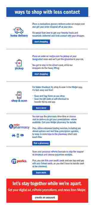 Meijer - deals are valid from 10/11/20 to 10/17/20 - page 20.