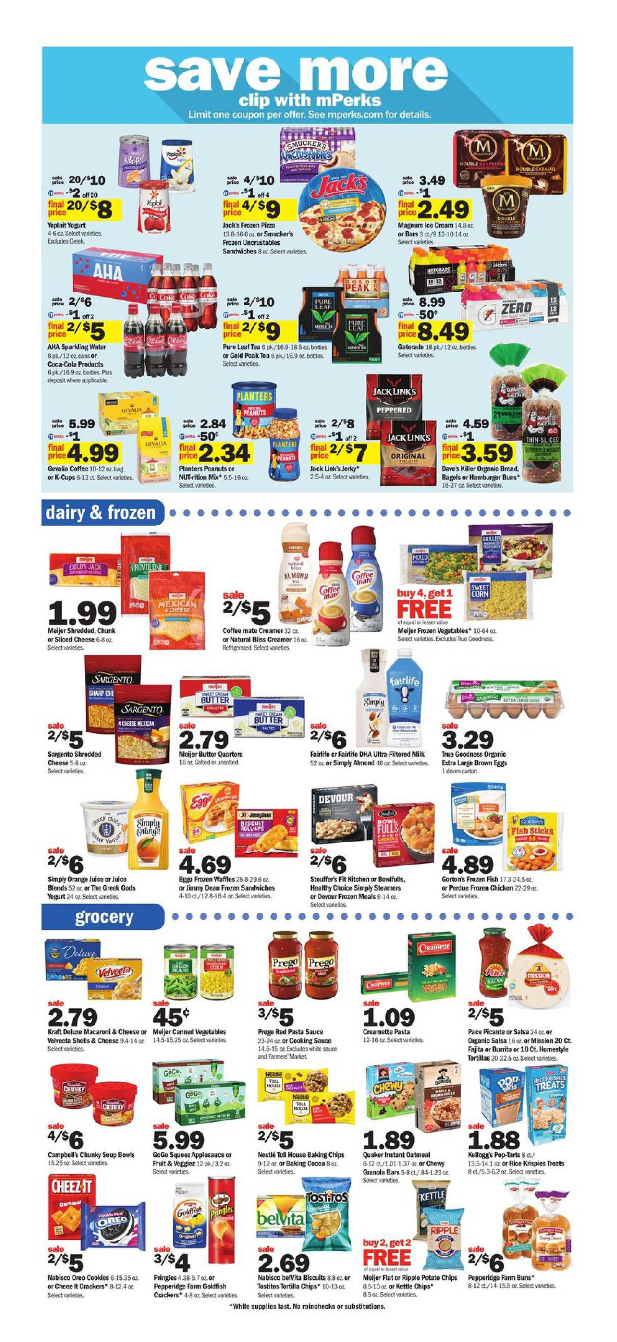Meijer - deals are valid from 10/11/20 to 10/17/20 - page 3.