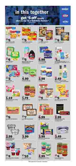 Meijer - deals are valid from 10/11/20 to 10/17/20 - page 6.