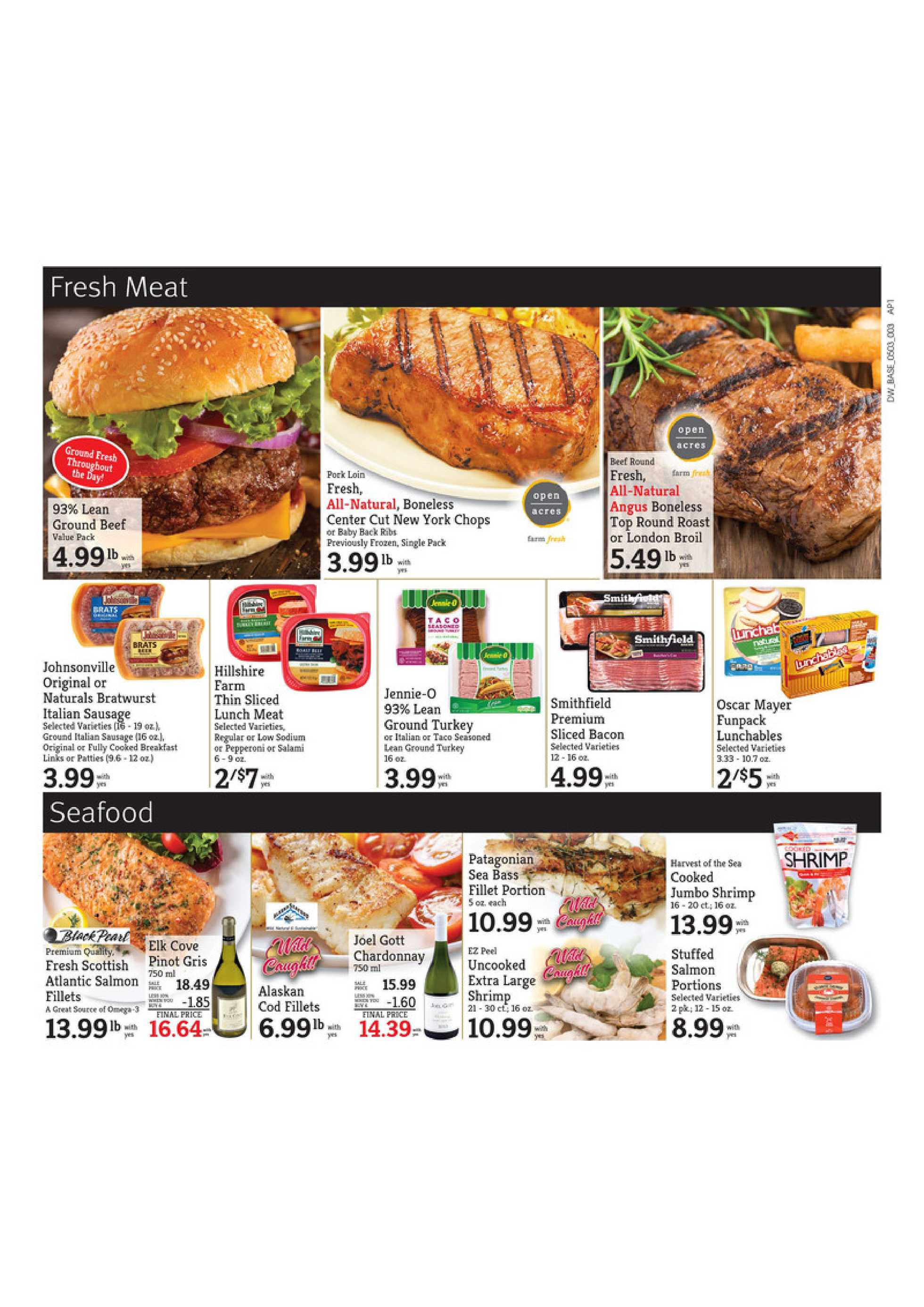 D&W Fresh Market - deals are valid from 05/03/20 to 05/09/20 - page 3.