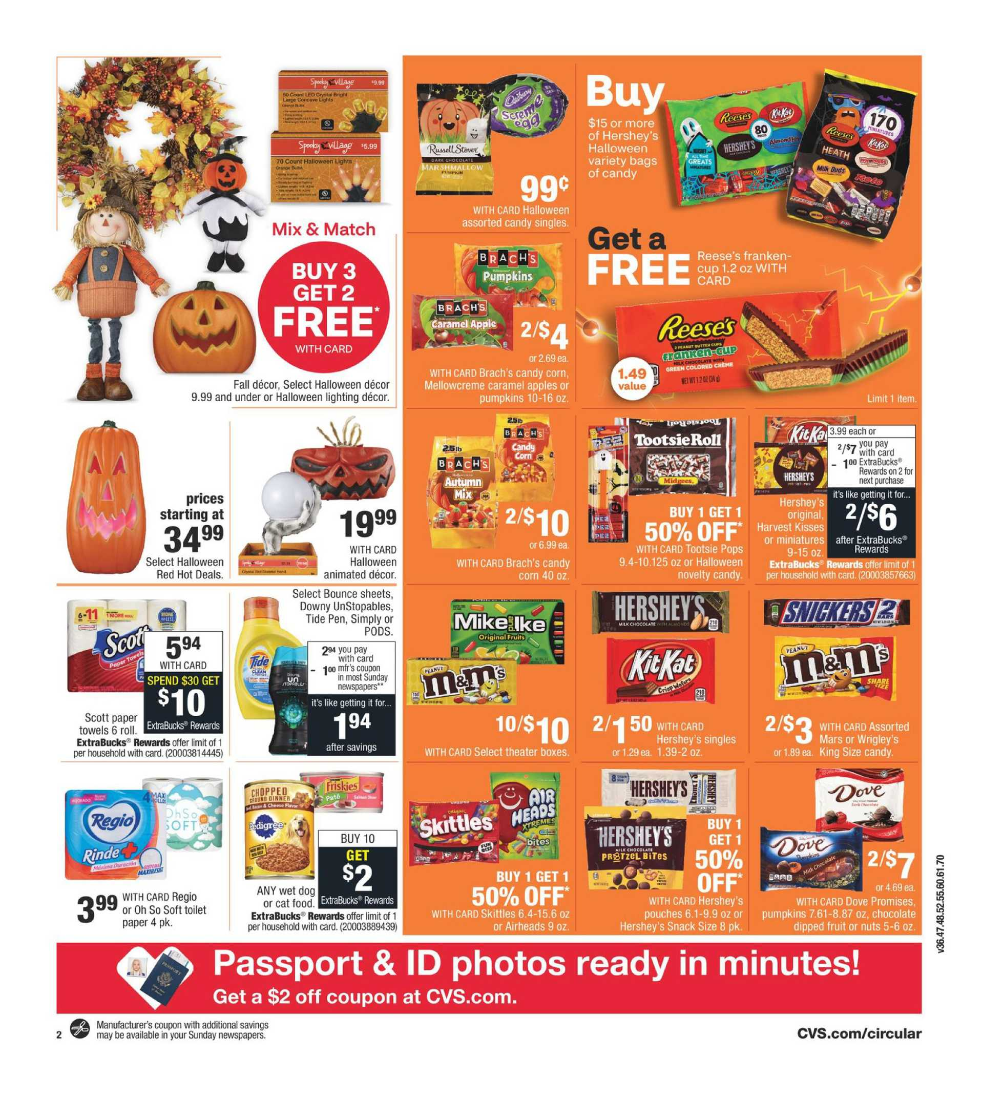 CVS - deals are valid from 09/13/20 to 09/19/20 - page 3.