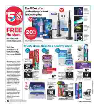 CVS - deals are valid from 09/13/20 to 09/19/20 - page 7.
