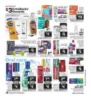 CVS - deals are valid from 10/18/20 to 10/24/20 - page 15.
