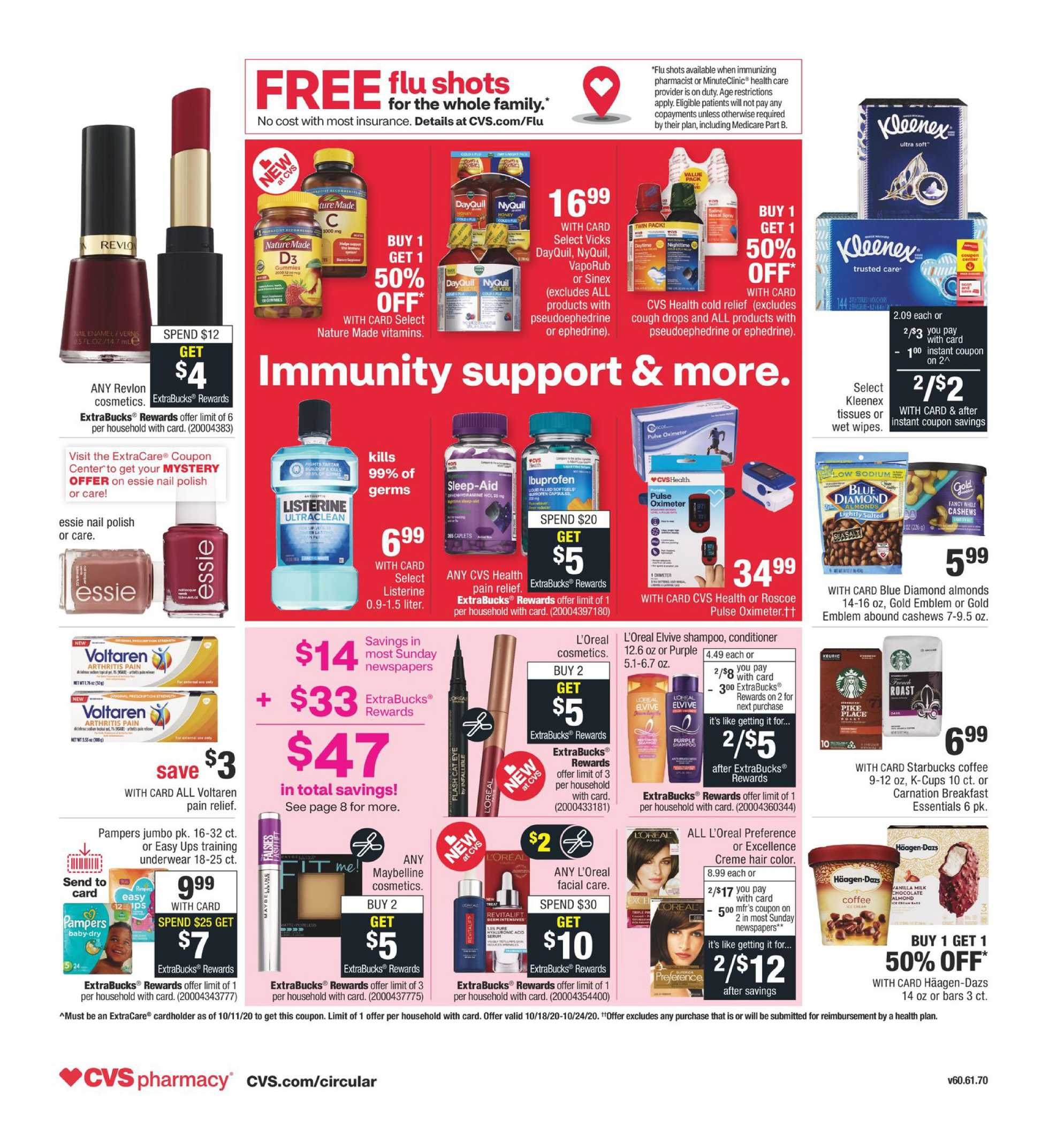 CVS - deals are valid from 10/18/20 to 10/24/20 - page 2.