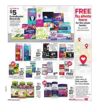 CVS - deals are valid from 10/18/20 to 10/24/20 - page 20.
