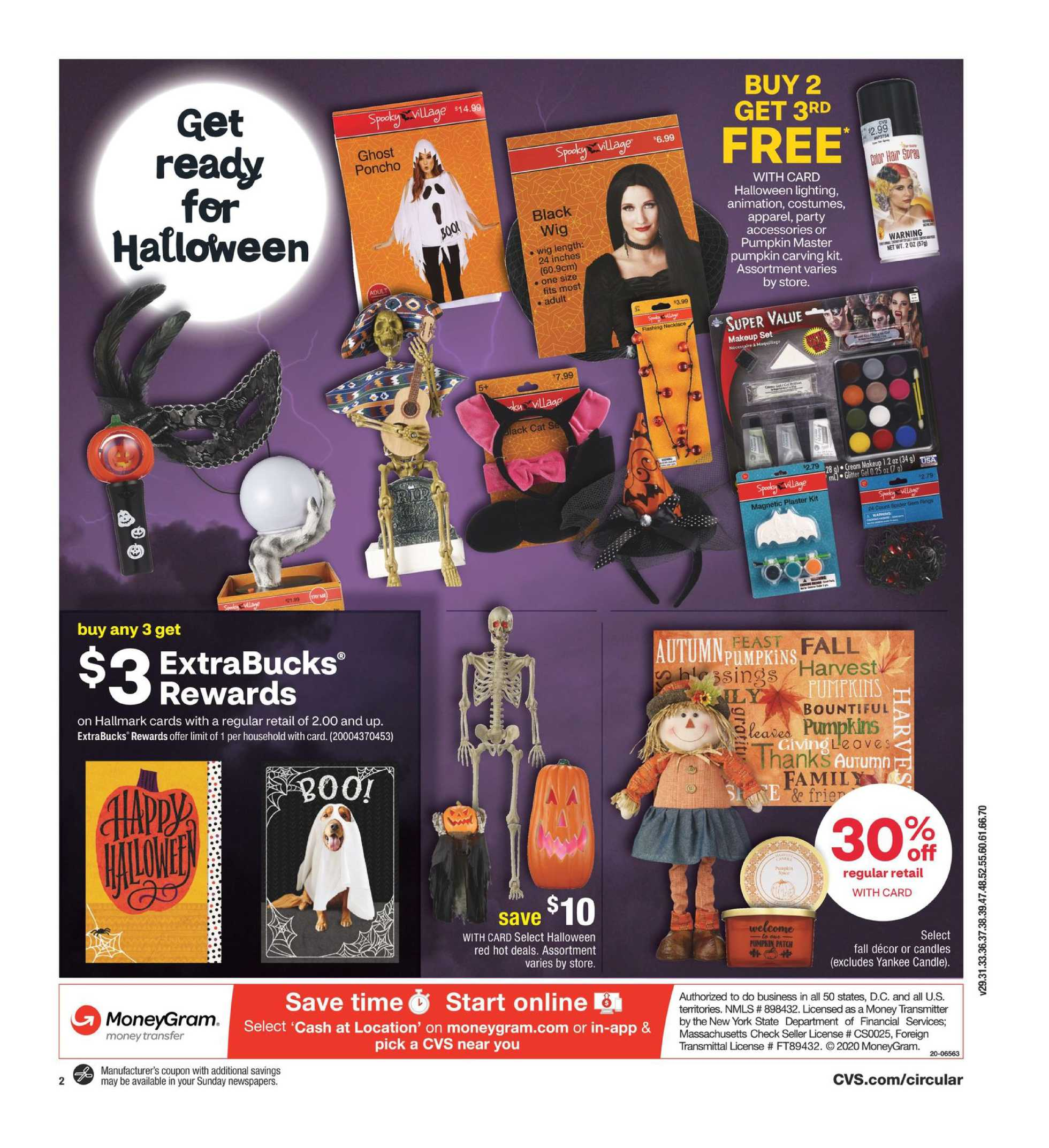 CVS - deals are valid from 10/18/20 to 10/24/20 - page 3.