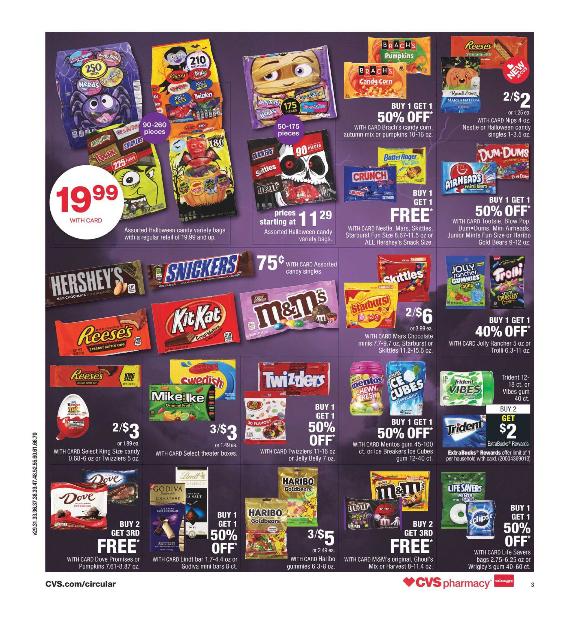 CVS - deals are valid from 10/18/20 to 10/24/20 - page 4.