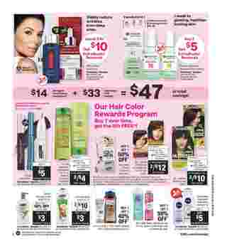 CVS - deals are valid from 10/18/20 to 10/24/20 - page 9.