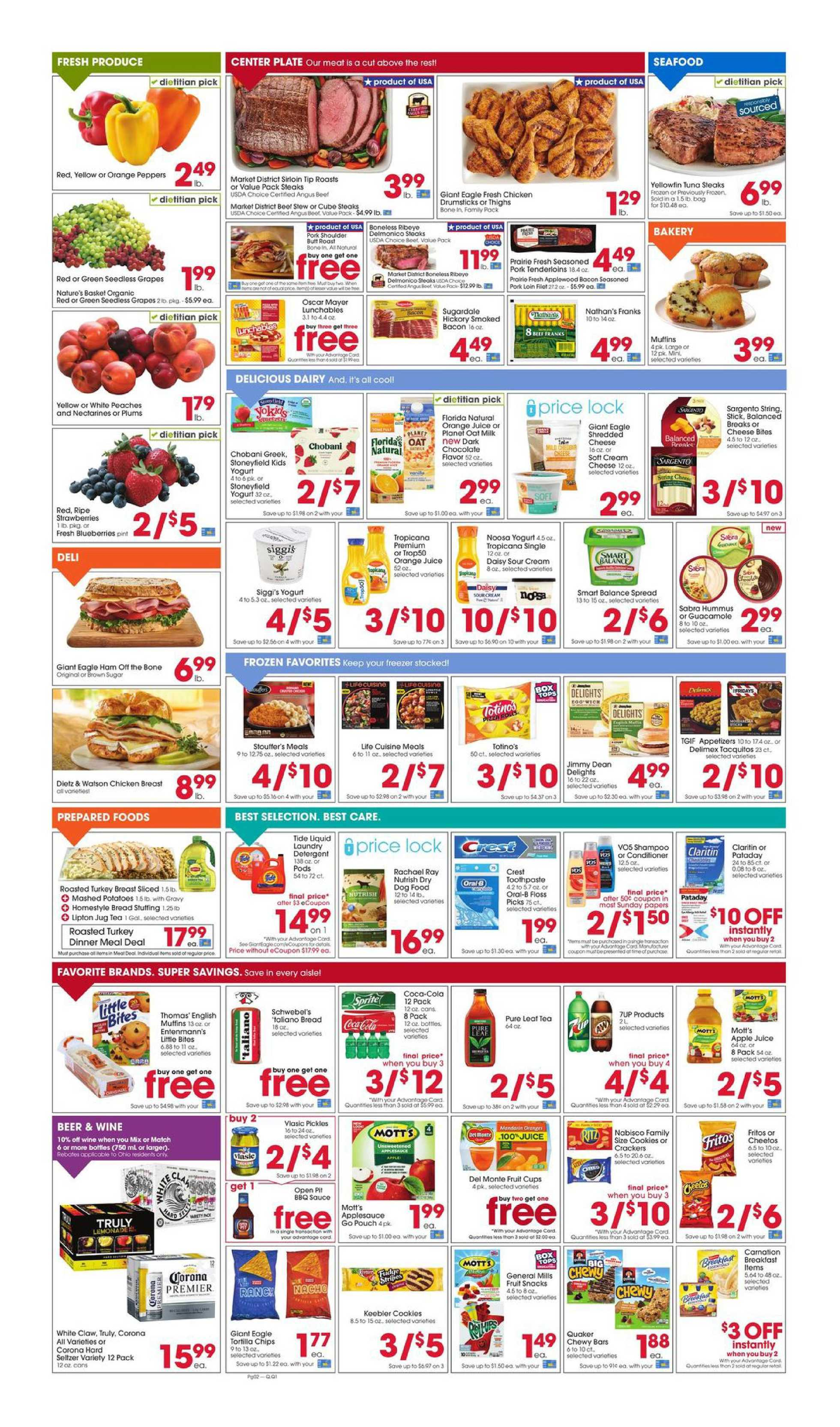 Giant Eagle - deals are valid from 08/20/20 to 08/26/20 - page 2.