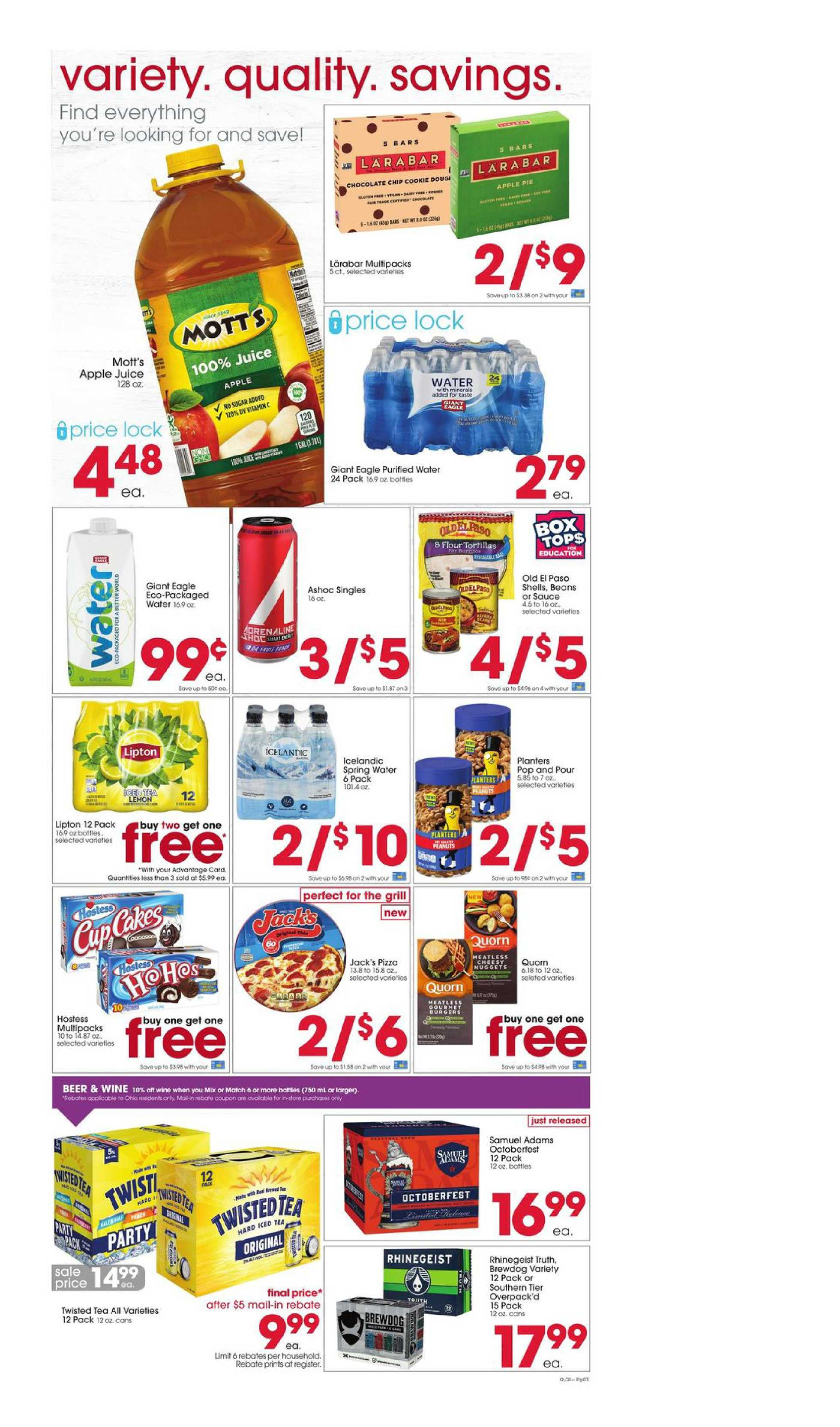 Giant Eagle - deals are valid from 08/20/20 to 08/26/20 - page 3.
