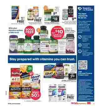 CVS - deals are valid from 11/01/20 to 11/07/20 - page 14.