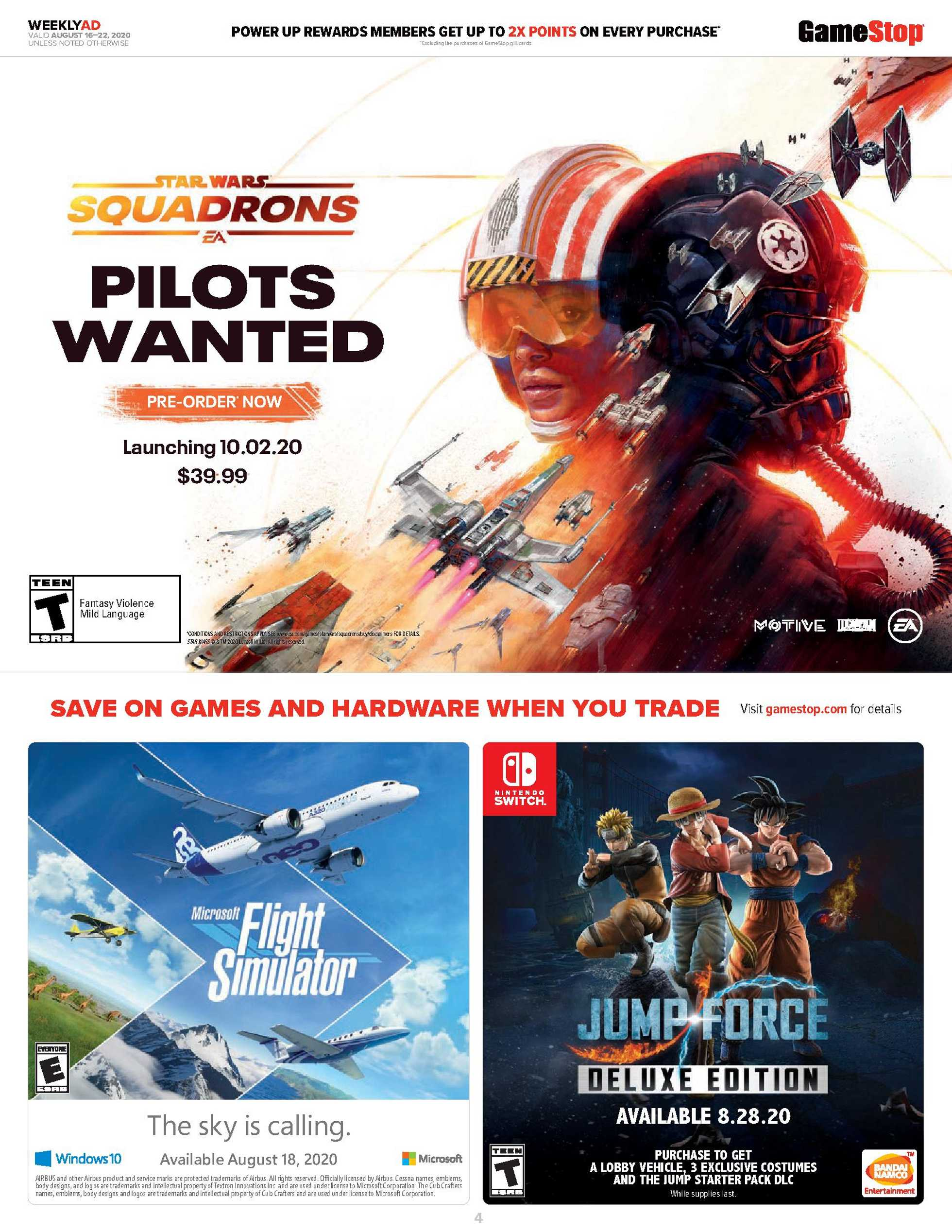 GameStop - deals are valid from 08/16/20 to 08/22/20 - page 3.