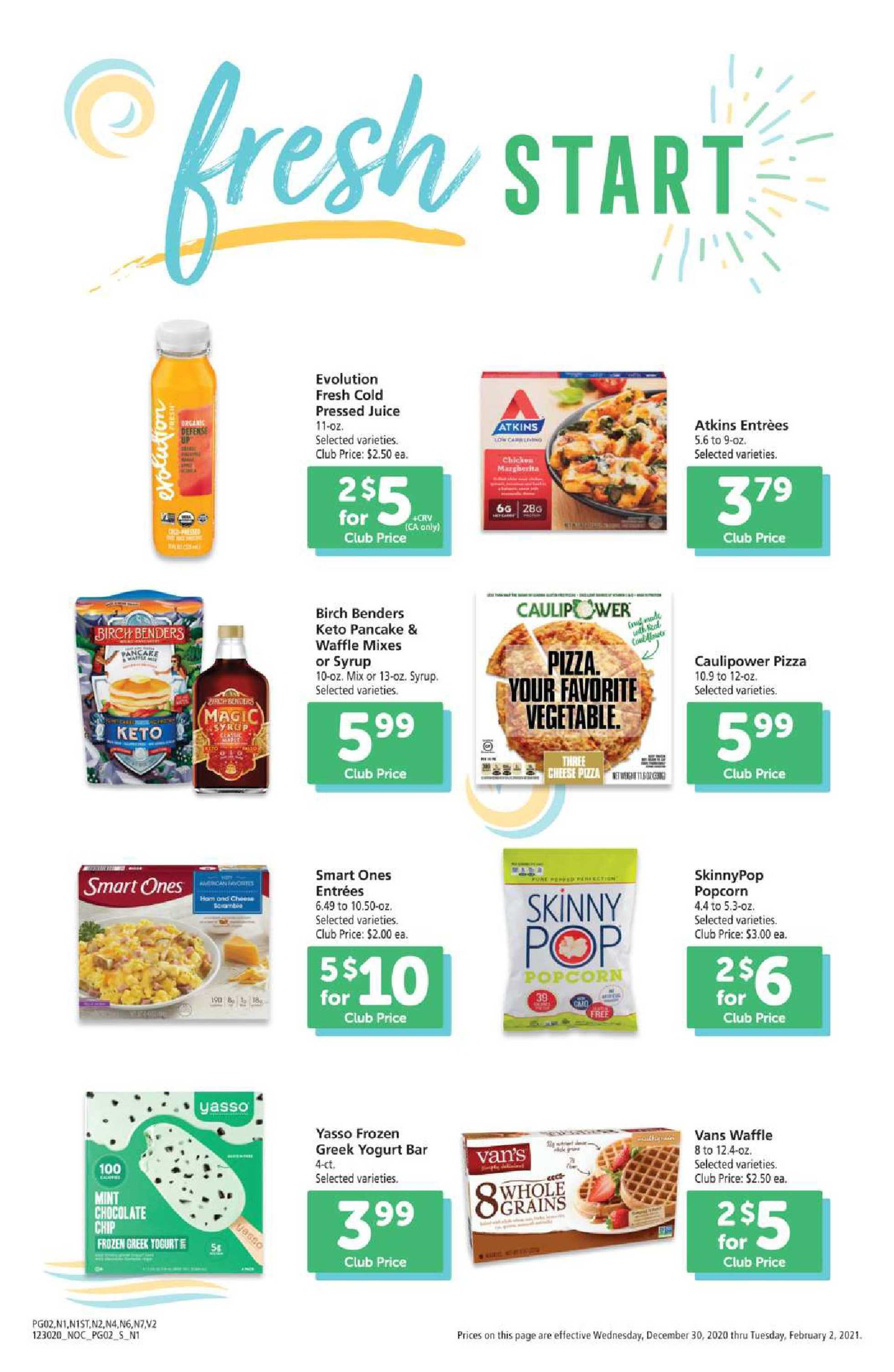 Safeway - deals are valid from 12/30/20 to 02/02/21 - page 2.