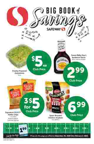 Safeway - deals are valid from 12/30/20 to 02/02/21 - page 28.