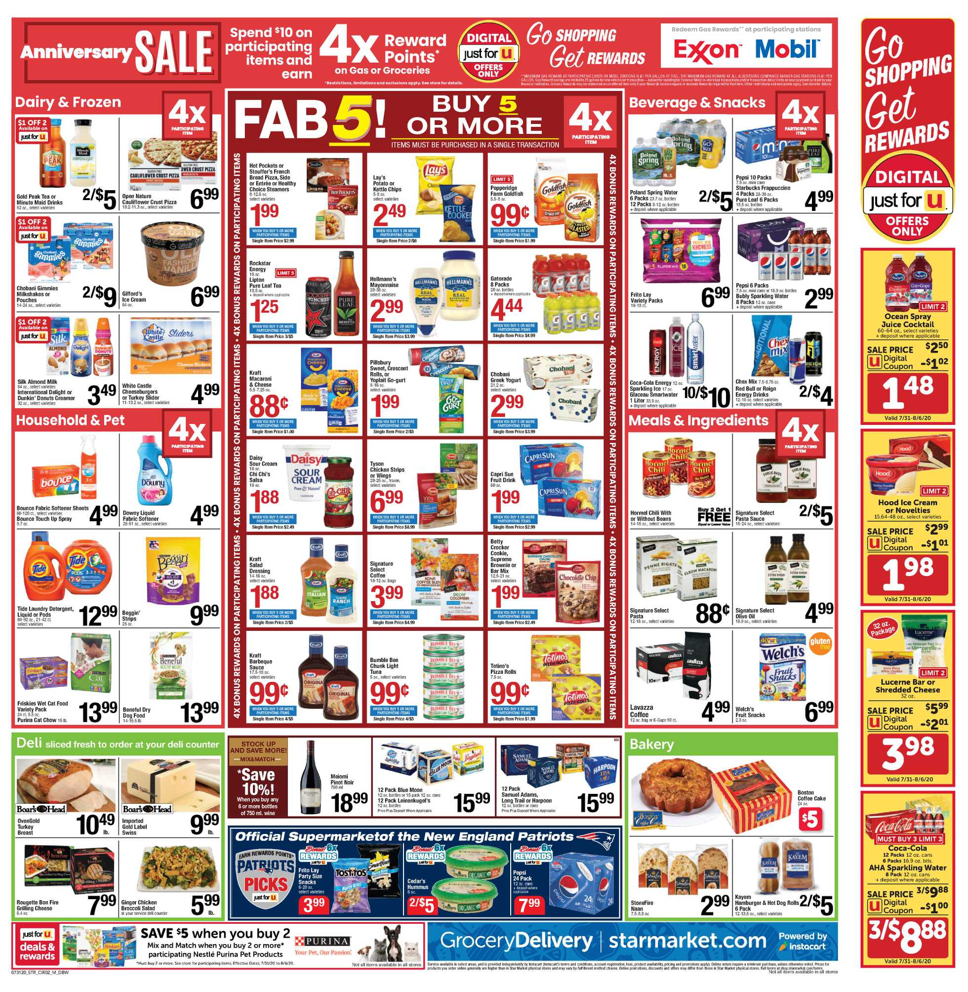Star Market - deals are valid from 07/31/20 to 08/06/20 - page 2.