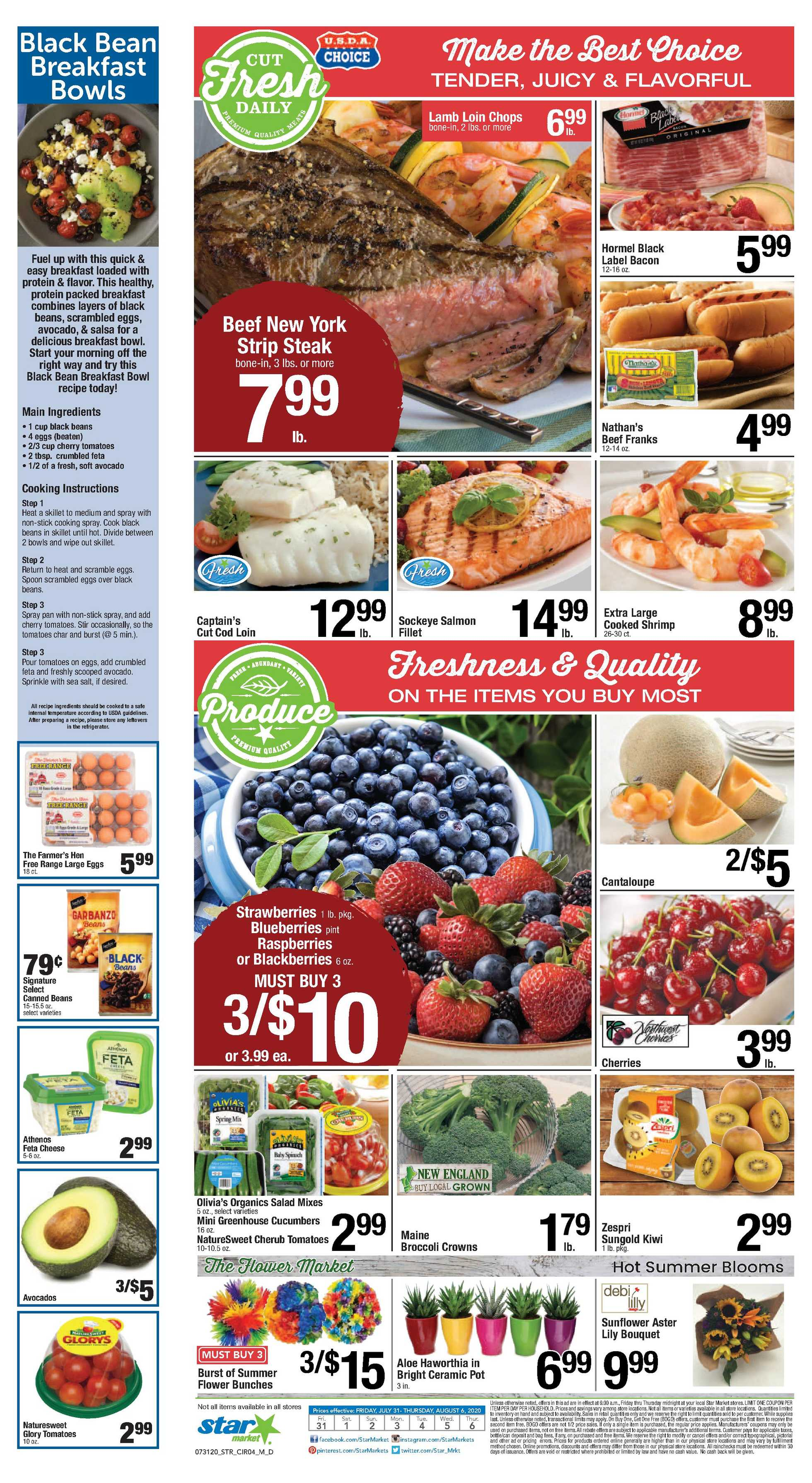 Star Market - deals are valid from 07/31/20 to 08/06/20 - page 3.
