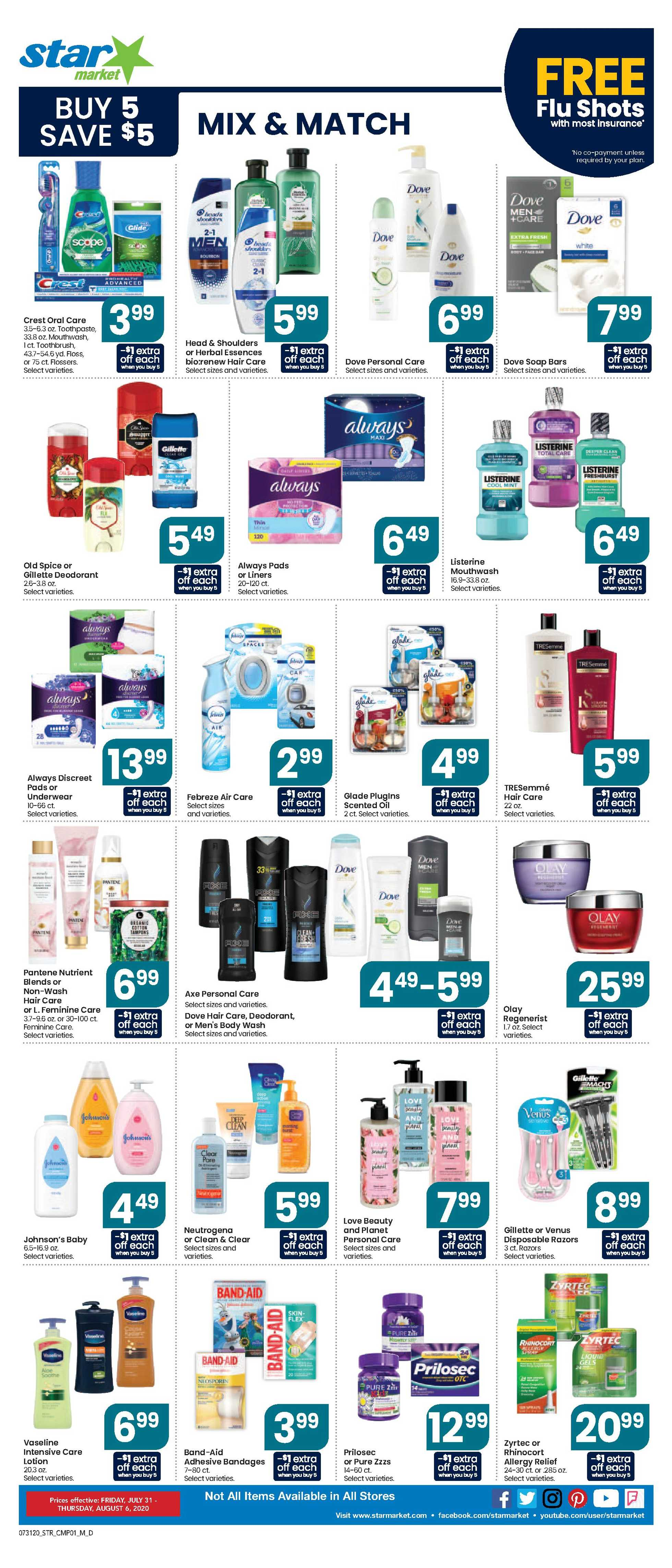 Star Market - deals are valid from 07/31/20 to 08/06/20 - page 4.