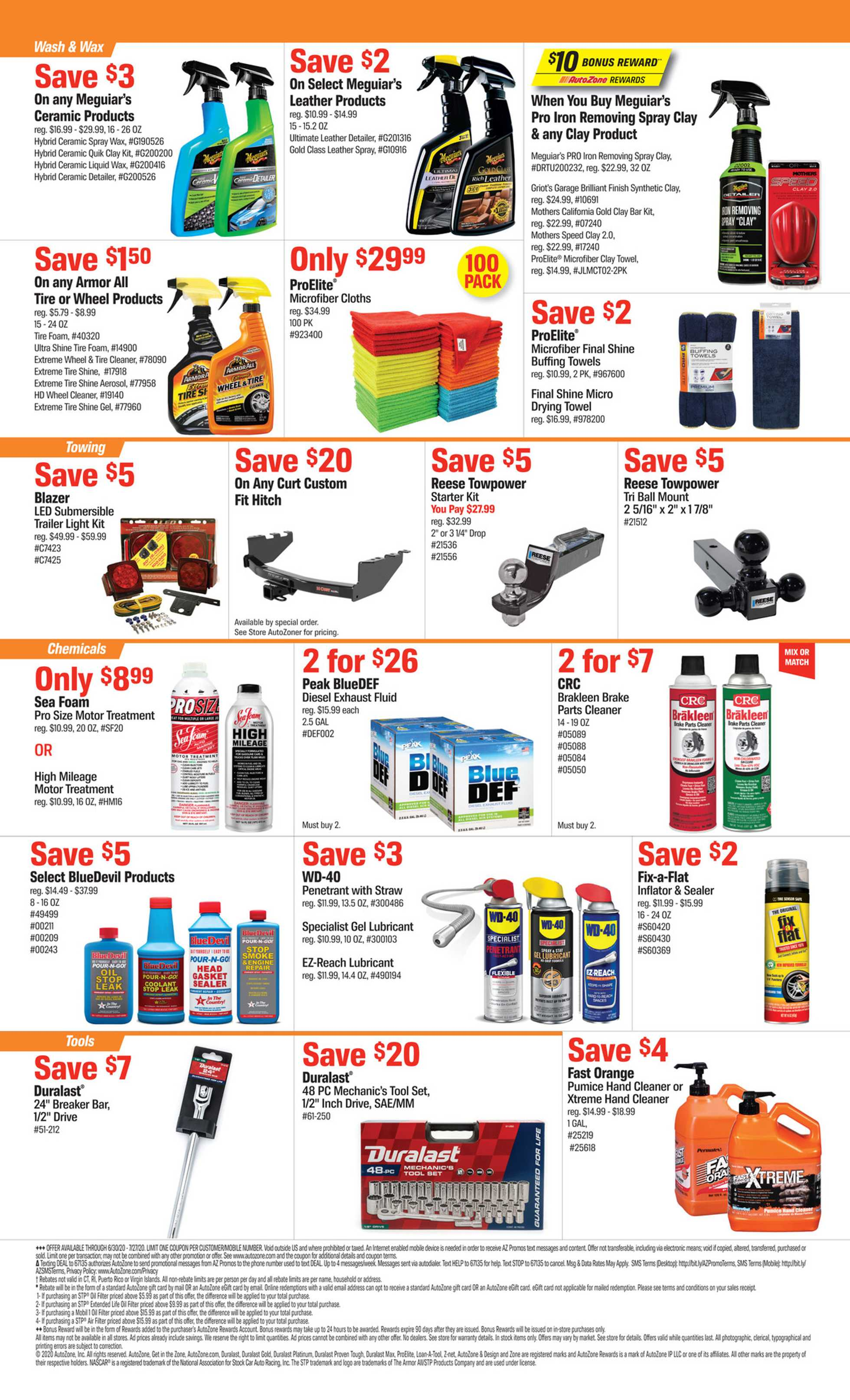 AutoZone - deals are valid from 06/30/20 to 07/27/20 - page 2.