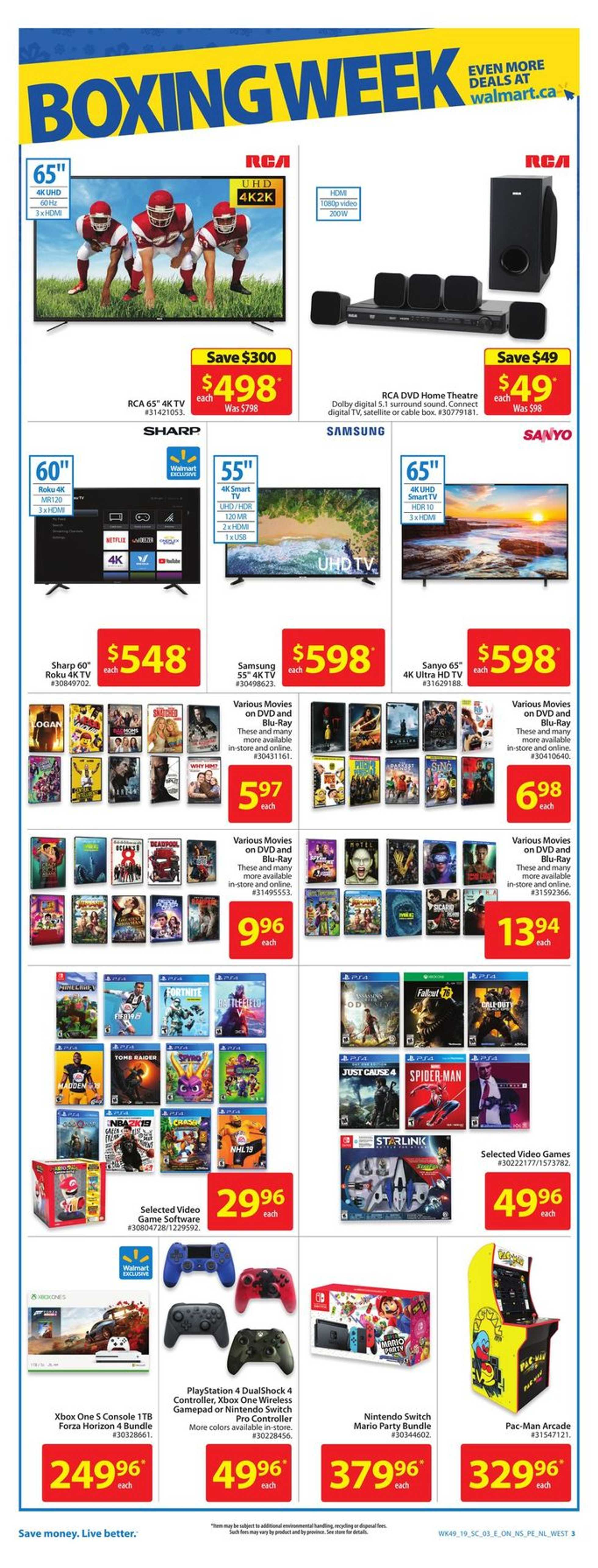 Walmart - deals are valid from 12/26/18 to 01/02/19 - page 3.
