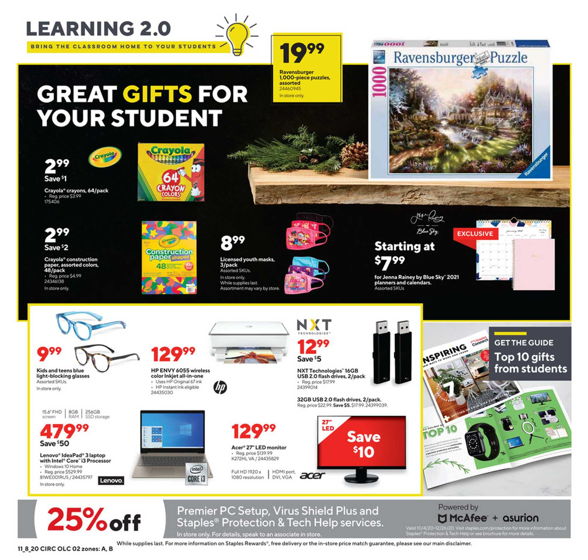 Staples - deals are valid from 11/08/20 to 11/14/20 - page 2.